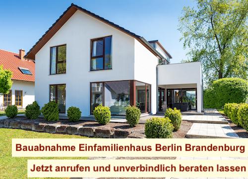 Bauabnahme einfamilienhaus berlin brandenburg for Einfamilienhaus berlin